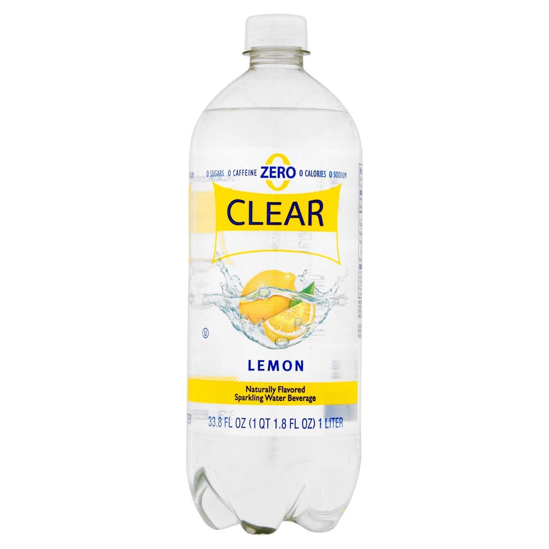 Sparkling Water, Clear American® Lemon (33.8 oz Bottle)