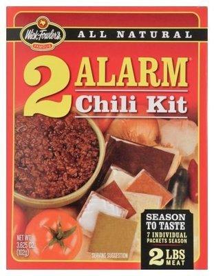 Chili Seasonings, Wick Fowler's® 2 Alarm Chili Kit (3.625 oz Bag)