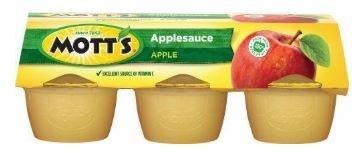 Apple Sauce, Mott's® Original Apple Sauce (6 Cups, 4 oz Cups)
