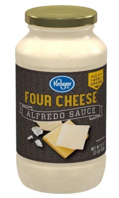 Alfredo Pasta Sauce, Kroger® Four Cheese Alfredo Pasta Sauce (24 oz Jar)