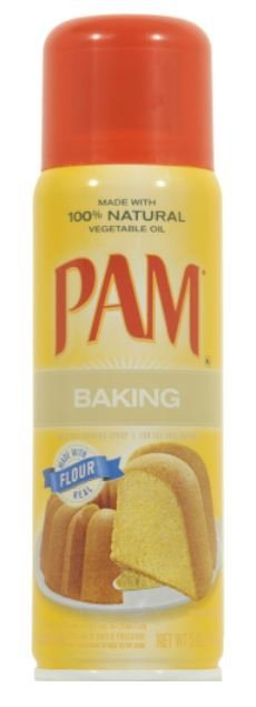 Cooking Spray, Pam® Cooking Oil Spray for Baking with Flour (5 oz Spray Can)