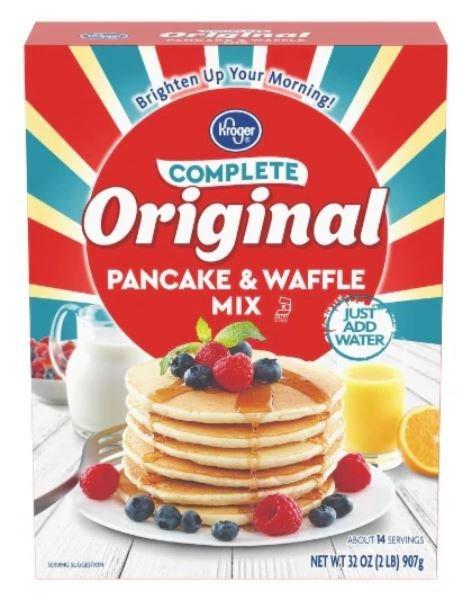 Pancake Mix, Kroger® Complete Original Pancake Mix (32 oz Box)