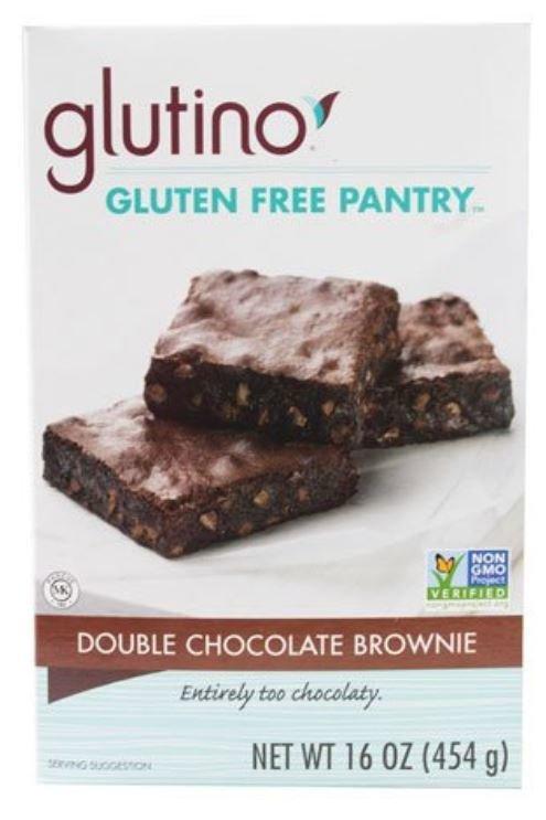 Brownie Mix, Glutino® Gluten Free Double Chocolate Brownie Mix (16 oz Box)