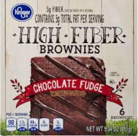 Brownies, Kroger® Chocolate Fudge Brownies (6 Count, 5.34 oz Box)