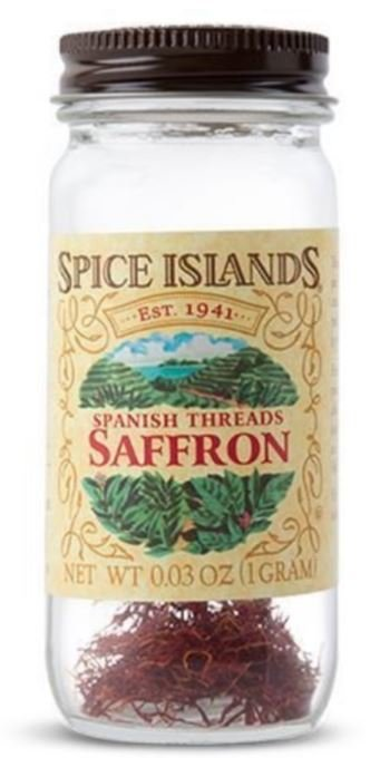Seasonings, Spice Islands® Spanish Threads Saffron (.3 oz Jar)