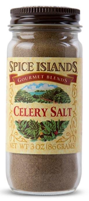 Seasonings, Spice Islands® Celery Salt (3 oz Jar)