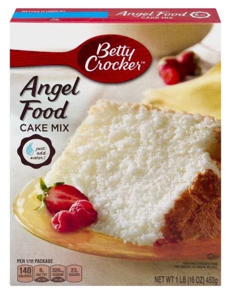Cake Mix, Betty Crocker® Angel Food Cake Mix (16 oz Box)