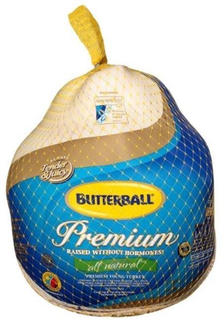 Whole Turkey, Butterball® Frozen Whole Turkey (16-20 lb Frozen Turkey)