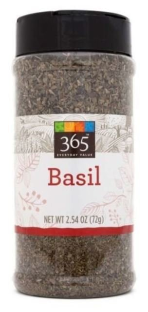 Seasonings, 365® Basil (2.54 oz Jar)