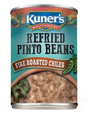 Canned Refried Beans, Kuner's®