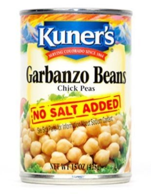 Canned Garbanzo Beans, Kuner's®
