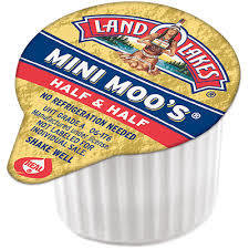 Coffee Creamer, Land O Lakes® Mini Moo's® Half & Half Creamer (Single Serve Cup)