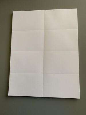 Cotton Paper 8.5