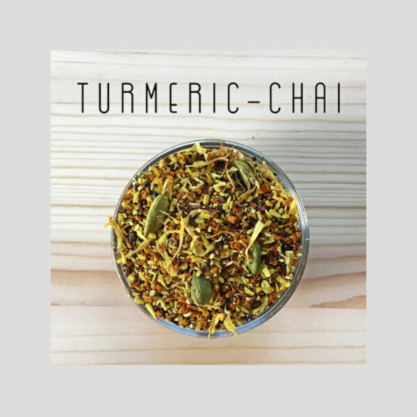 Turmeric-Chai : 50g Loose-Leaf
