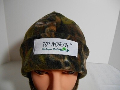 Deer Camo Winter Hat with Face Cover