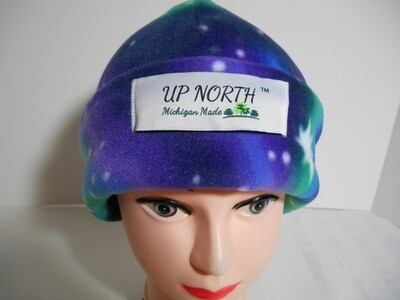 Northern Lights Double Domes Winter Hat with Face Cover