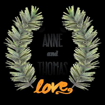 Tropical Flower Wedding Invitation Frame Wreath