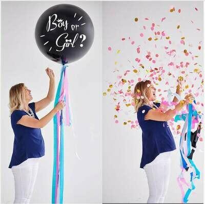Gender Reveal Balloon Gender Confetti Balloon   36