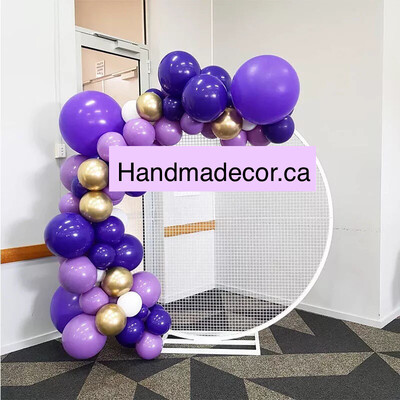 Purple Rose Red Balloon Garland Arch Kit Adult Birthday Balloons For Wedding Party Backdrop Decoration Baby Shower