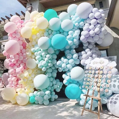 Pastel Balloons Baby Shower Decoration Macaroon Ballons Wedding Birthday Latex Air Balloon