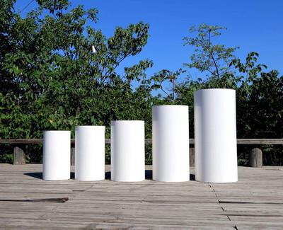 Big Cylinder Pedestal Display Art Decor Plinths Pillars  Cake Table for DIY Wedding Decoration Holiday