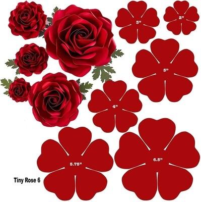 Digital download file Tiny Rose 6 2