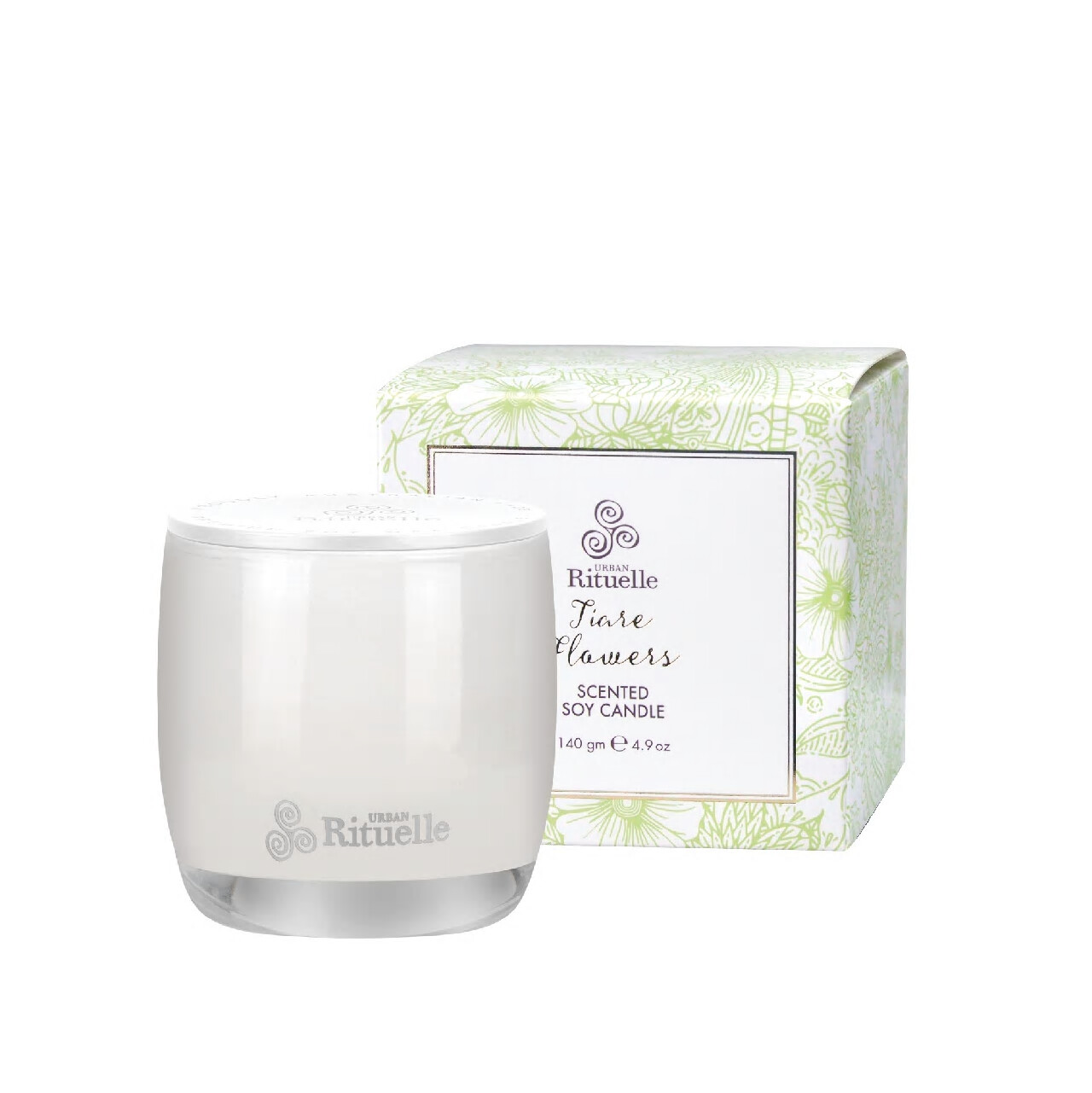Urban Rituelle Scented Soy Candle - Tiare Flowers