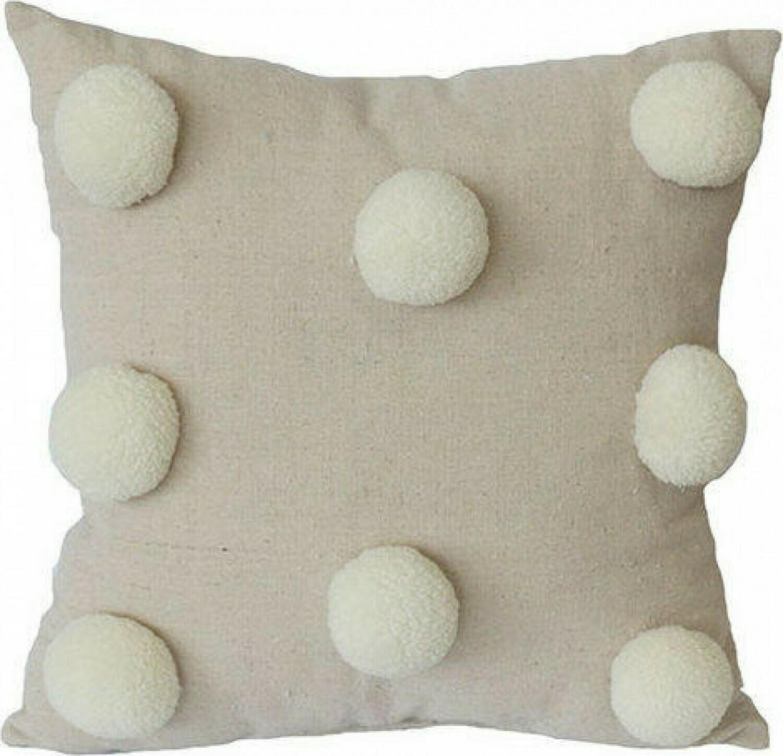 Cushion Neutral Pom Pom