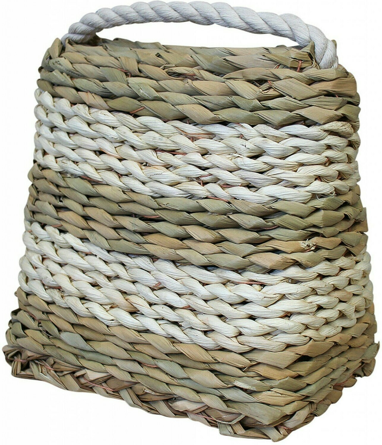 Doorstop Woven Natural and White Stripe