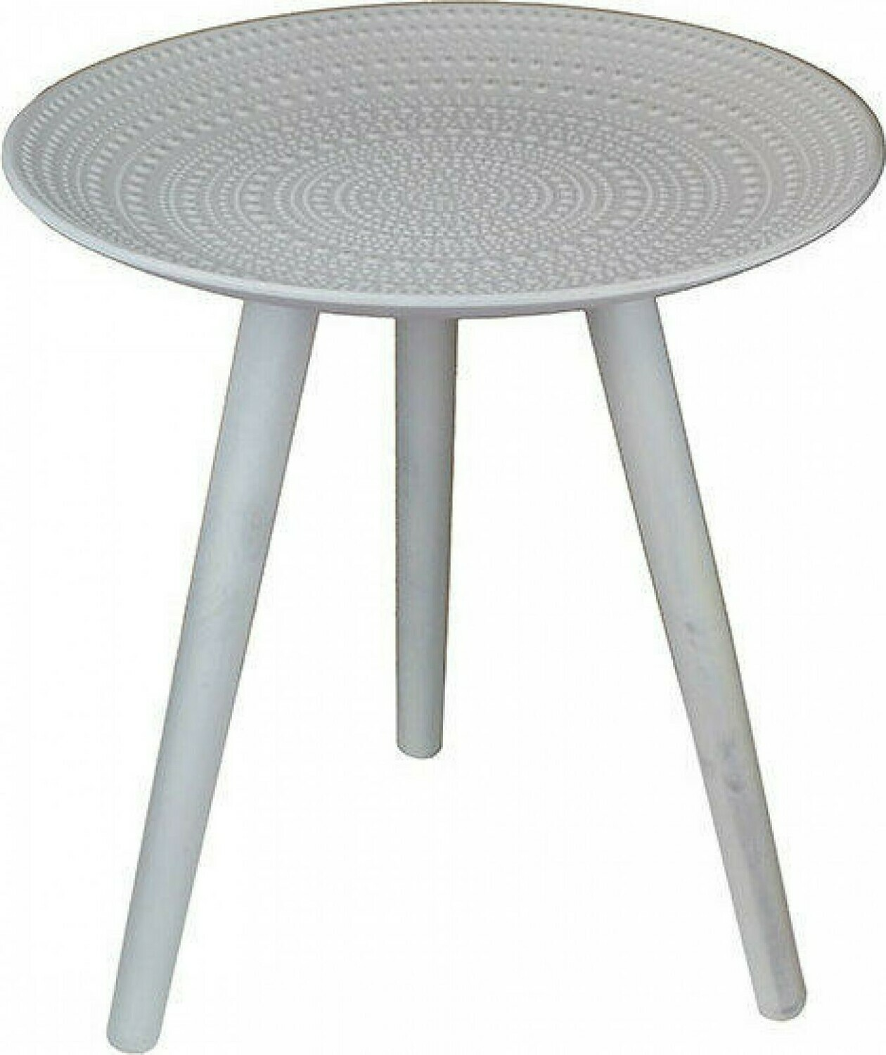 Side Table Concentric Dots