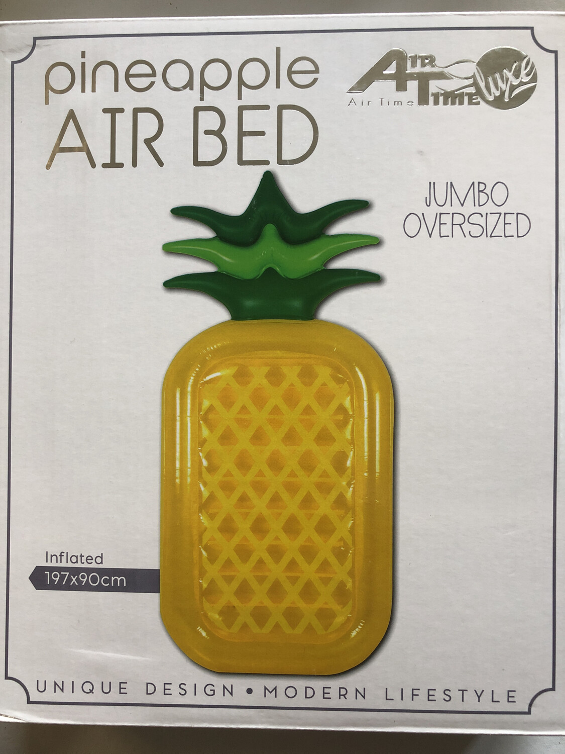 Inflatable Giant Pineapple Air Bed