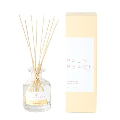 Palm Beach Mini Diffuser 50ml Up to 1.5 Months Scent Life - Coconut And Lime