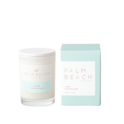 Palm Beach Mini Soy Candle 90g 25 Hours Burn Time - Sea Salt