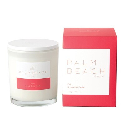 Palm Beach Soy Candle 420g 80 Hours Burn Time - Posy