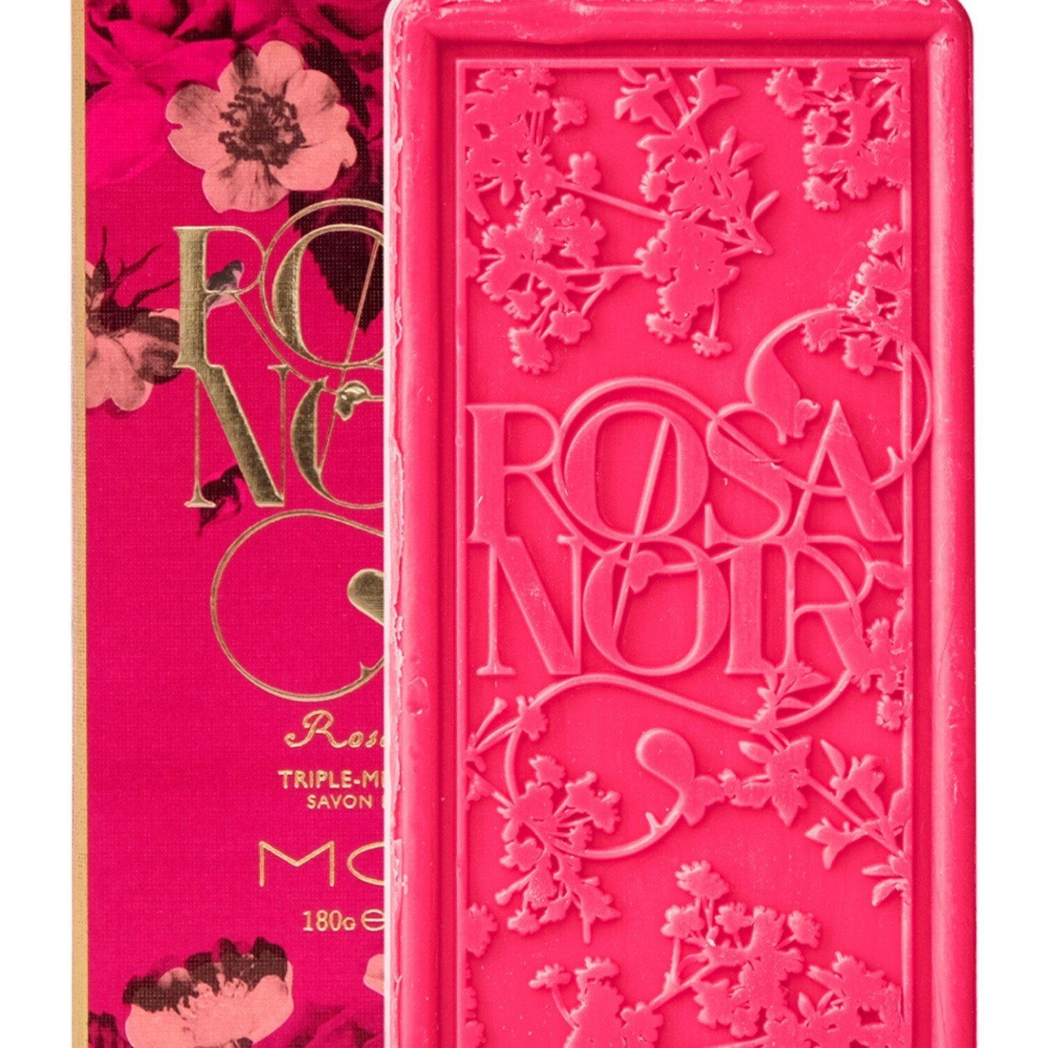 Mor Rosa Noir Triple Milled Soap In Box