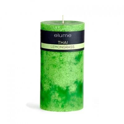 Elume Pillar Candle - Thai Lemongrass