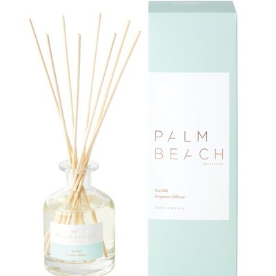Palm Beach Large Diffuser 250ml Up to 5 Months Scent Life - Sea Salt