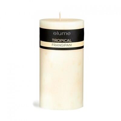 Elume Pillar Candle - Tropical Frangipani