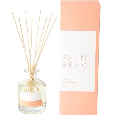 Palm Beach Large Diffuser 250ml Up to 5 Months Scent Life - Watermelon