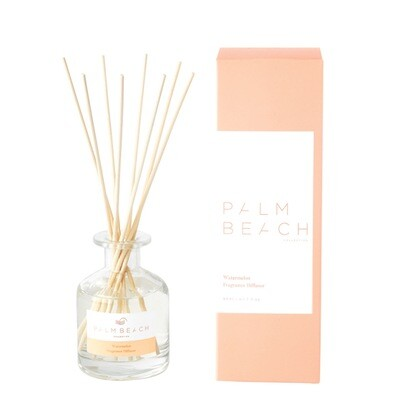 Palm Beach Mini Diffuser 50ml Up to 1.5 Months Scent Life - Watermelon