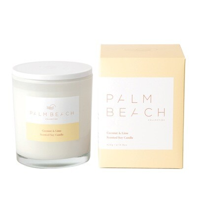 Palm Beach Soy Candle 420g 80 Hours Burn Time - Coconut And Lime