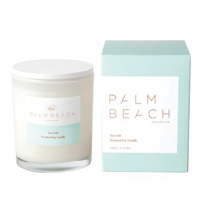 Palm Beach Soy Candle 420g 80 Hours Burn Time - Sea Salt
