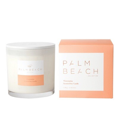 Palm Beach Deluxe Soy Candle 1.8kg 180 Hours Burn Time - Watermelon