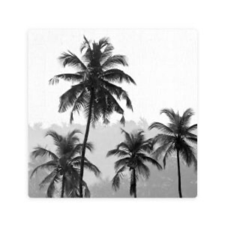 Splosh Palm Forest Ceramic Coaster
