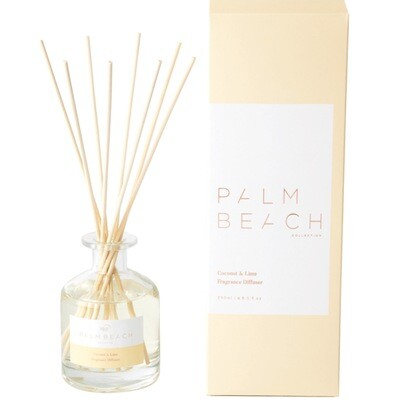Palm Beach Large Diffuser 250ml Up to 5 Months Scent Life - Coconut And Lime