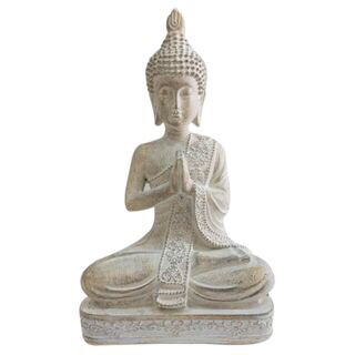 Bae Buddha Resin Sculpture 22cm OD0168