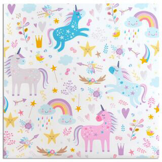 20 Pack 3 Ply Napkin Unicorn KW5334