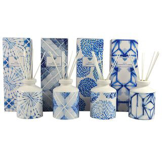Ceramic Diffuser Blue Asst Fragrances CF0188
