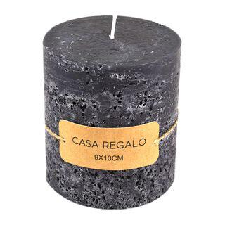 Earth Pillar Candle Charcoal
