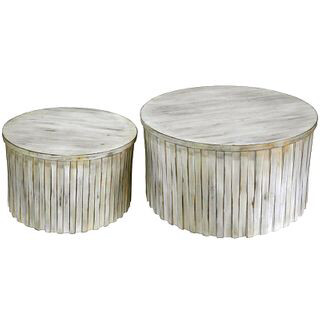 Coffee Table Drum Large Size